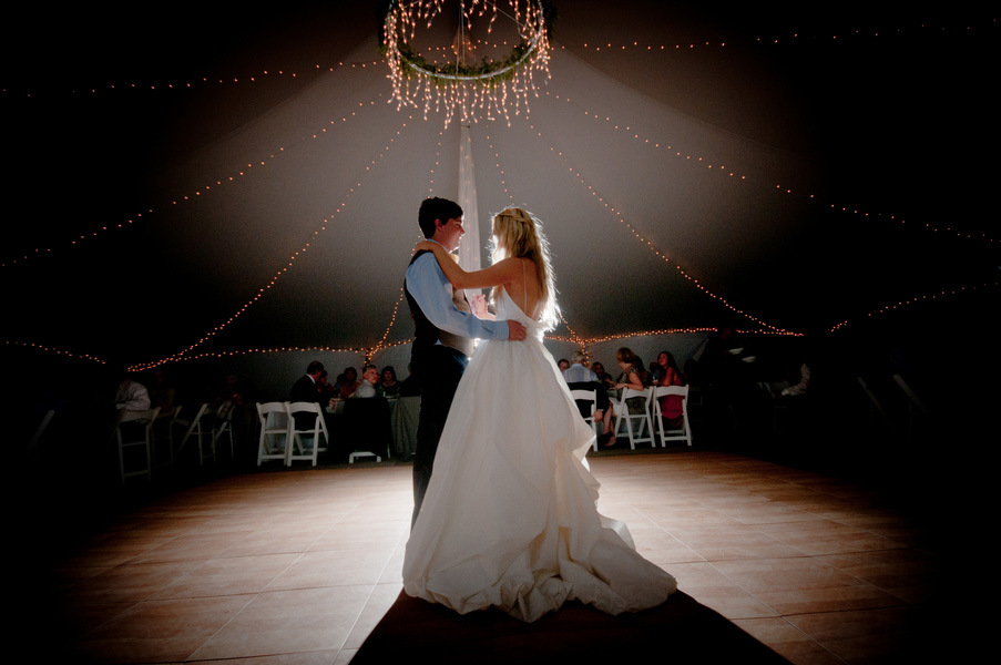 first-dance-in-tent